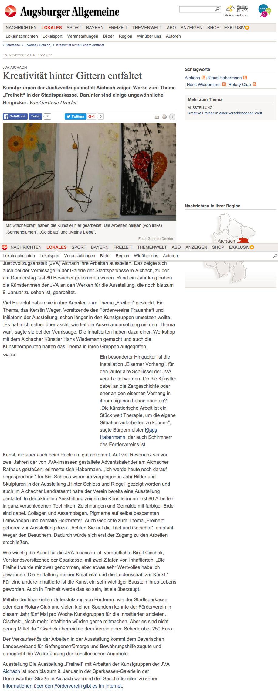 JVA-Aichach--Kreativität-hinter-Gittern-entfaltet---Nachrichten-Aichach---Augsburger-Allgemeine