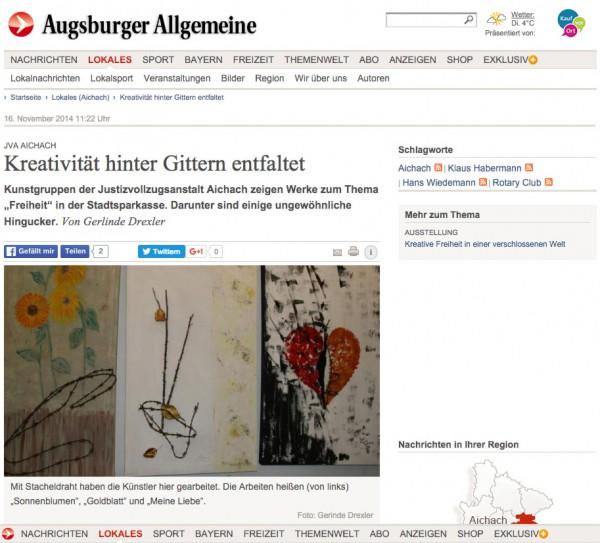 JVA-Aichach--Kreativität-hinter-Gittern-entfaltet---Nachrichten-Aichach---Augsburger-Allgemeine_vorschau